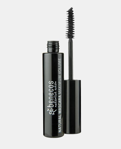 Benecos Maximum Volume Mascara (Natural lashes) (Deep Black) (Smooth Brown)
