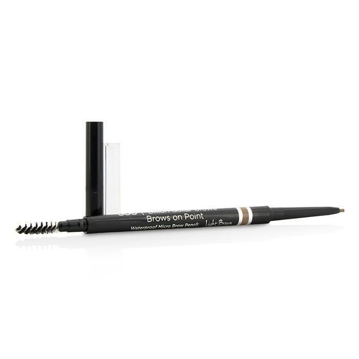 Brows On Point Waterproof Micro Brow Pencil  Light Brown  0.045g0.002oz - Beauty Brands