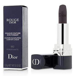DIOR | Rouge Dior Couture Colour Comfort & Wear Matte Lipstick  # 962 Poison Matte  3.5g0.12oz - Beauty Brands