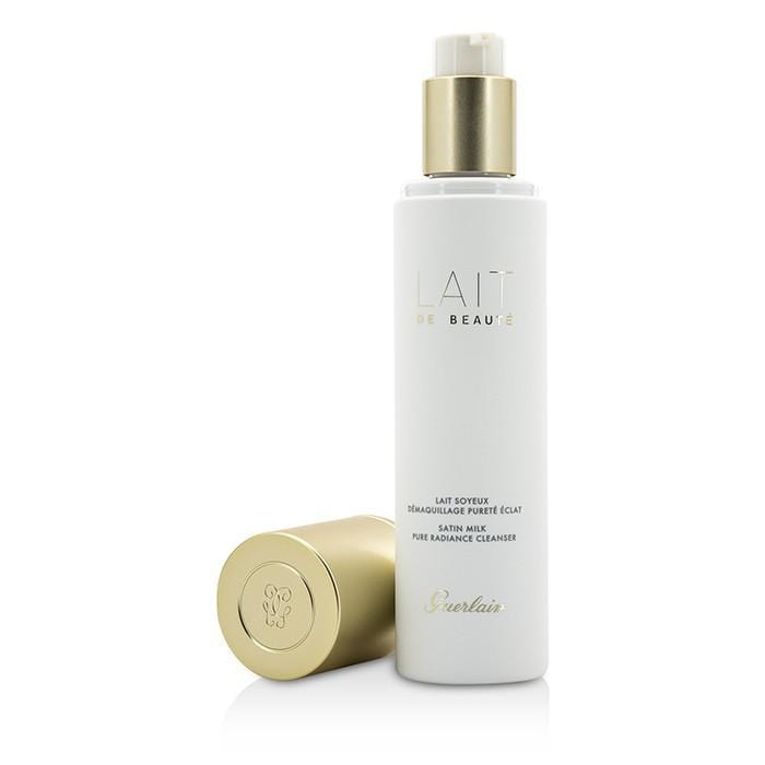 Guerlain Pure Radiance Cleanser - Lait De Beaute Gentle Cleansing Satin Milk 6.7oz - Beauty Brands