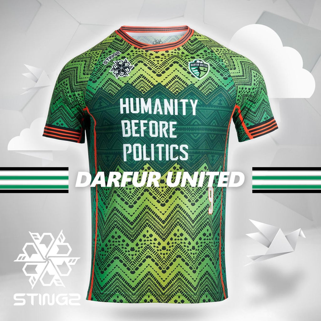 2020 Darfur United Official Jersey