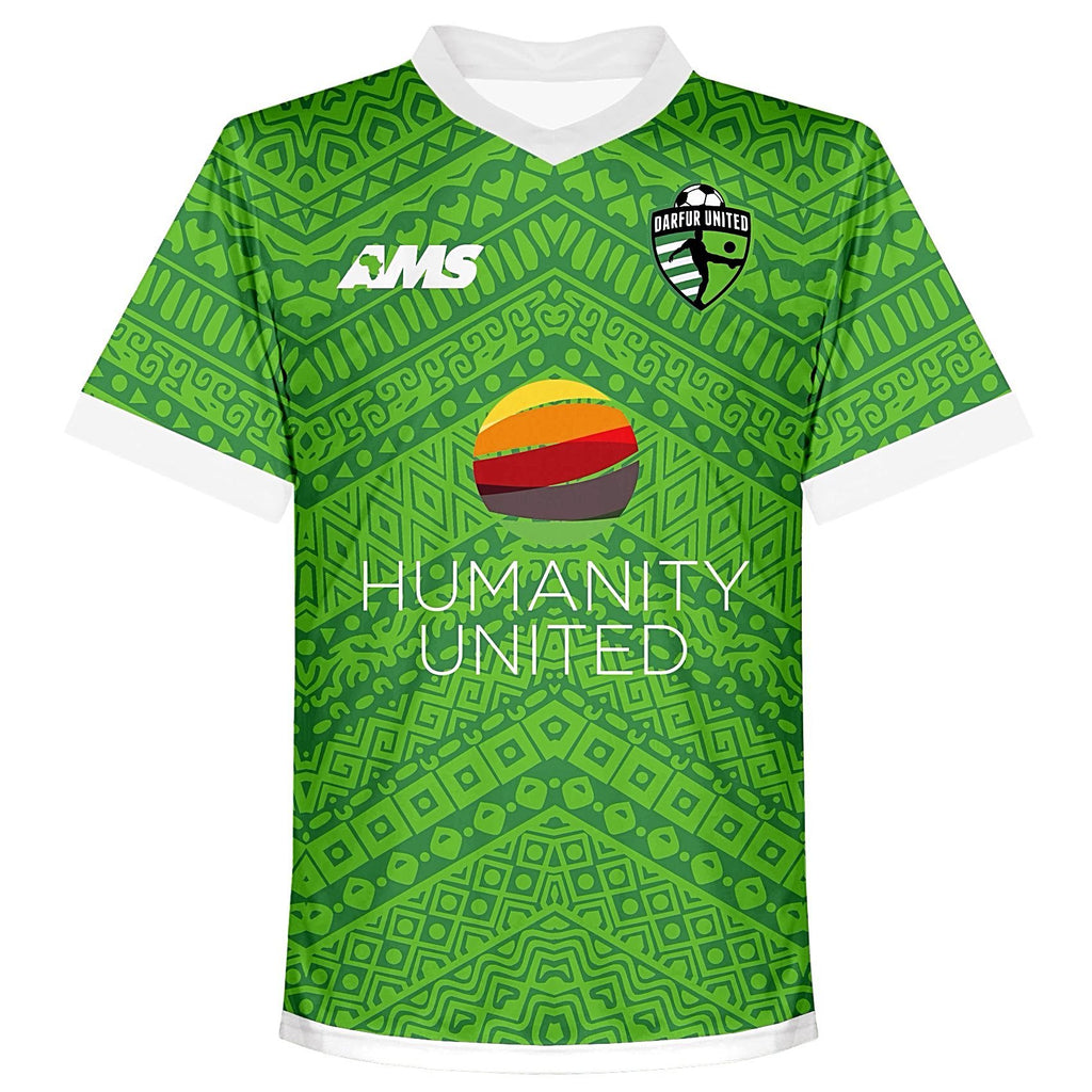 2017-18 Darfur United Match Jersey