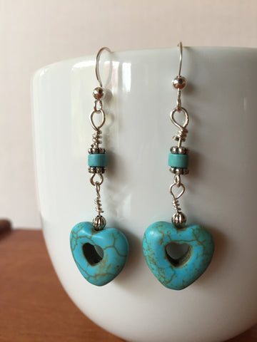 Two Stone Earrings