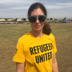Refugees United Tee (Plus 1 for a Refugee Coach!)