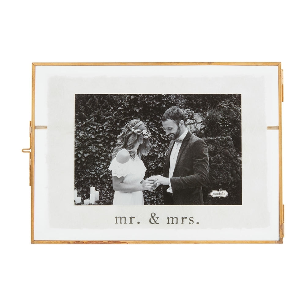 Glass Wedding Frame - Small