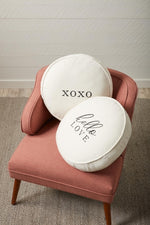 Round Love Pillows