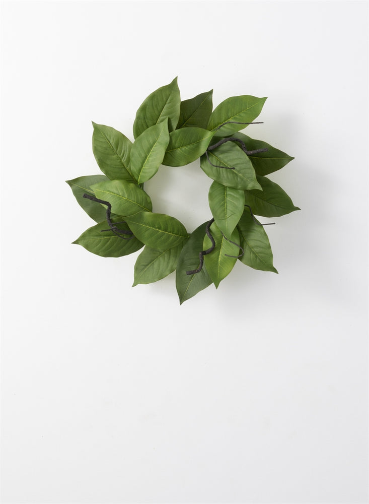 Salal Leaf Accent Ring