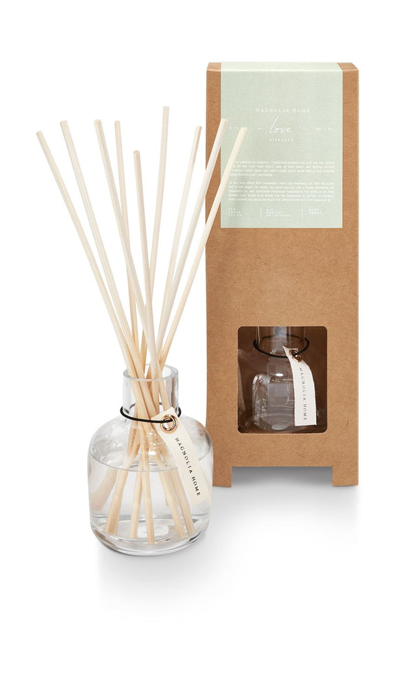 Magnolia Home Reed Diffuser - Love