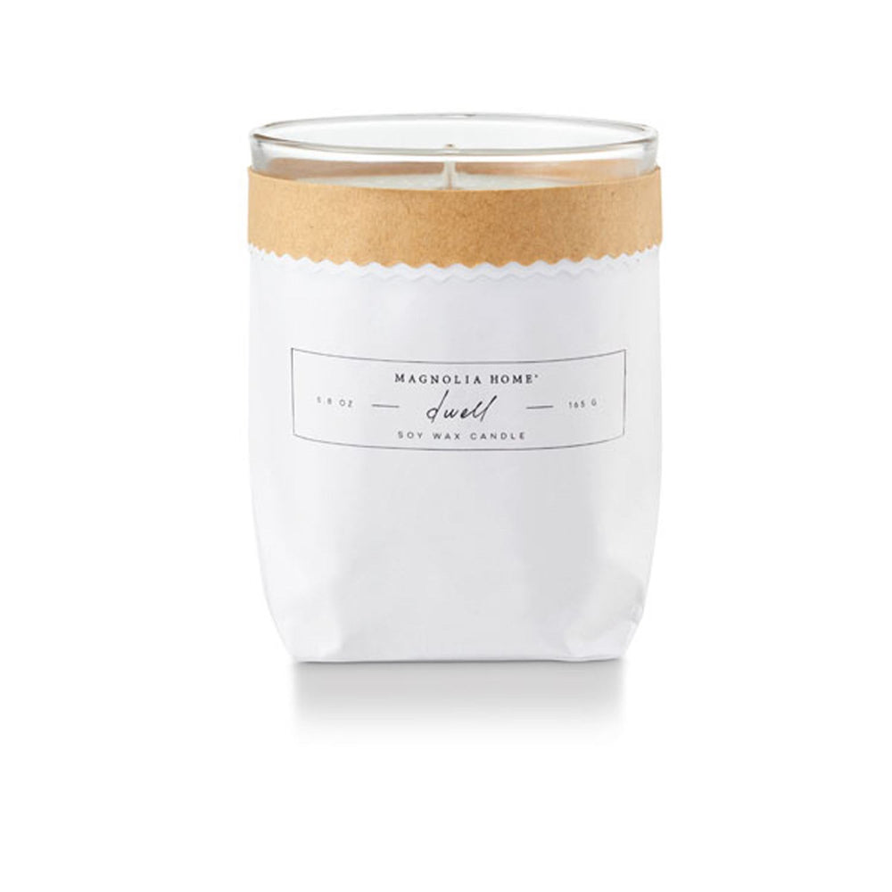 Magnolia Home Kraft Textured Candle - Dwell