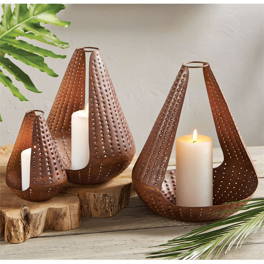 Tear Drop Lantern Set
