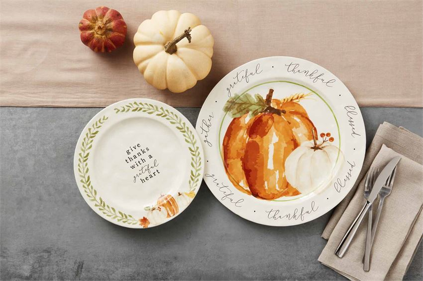 Pumpkin Platter Set