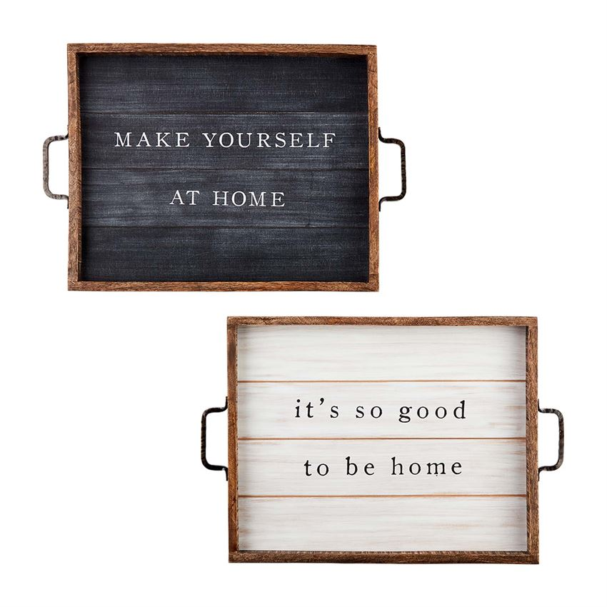 Home Tray Plaques