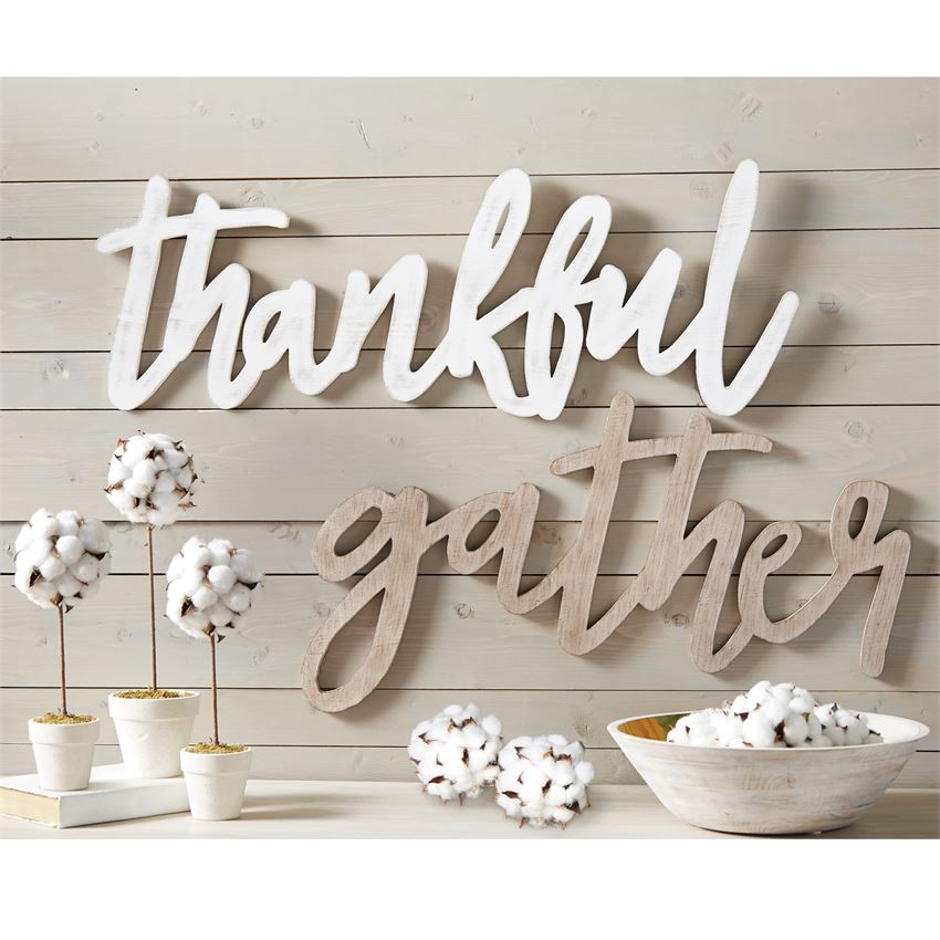 Fall Word Wall Art - Gatherings Market