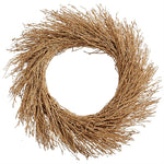 Preserved Glitter Twig Wreath