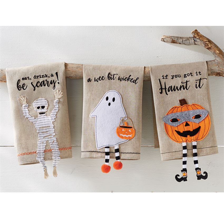 Halloween Dangle Leg Towel - Gatherings Market