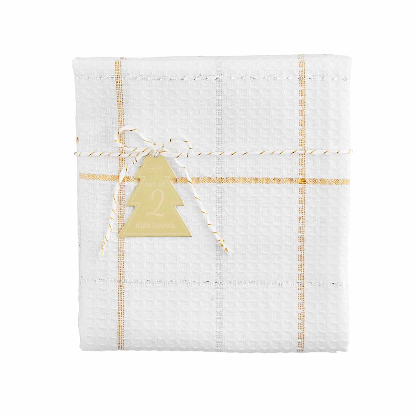 Gold & Silver Dish Cloth Sets