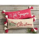 Christmas Dhurrie Pillows
