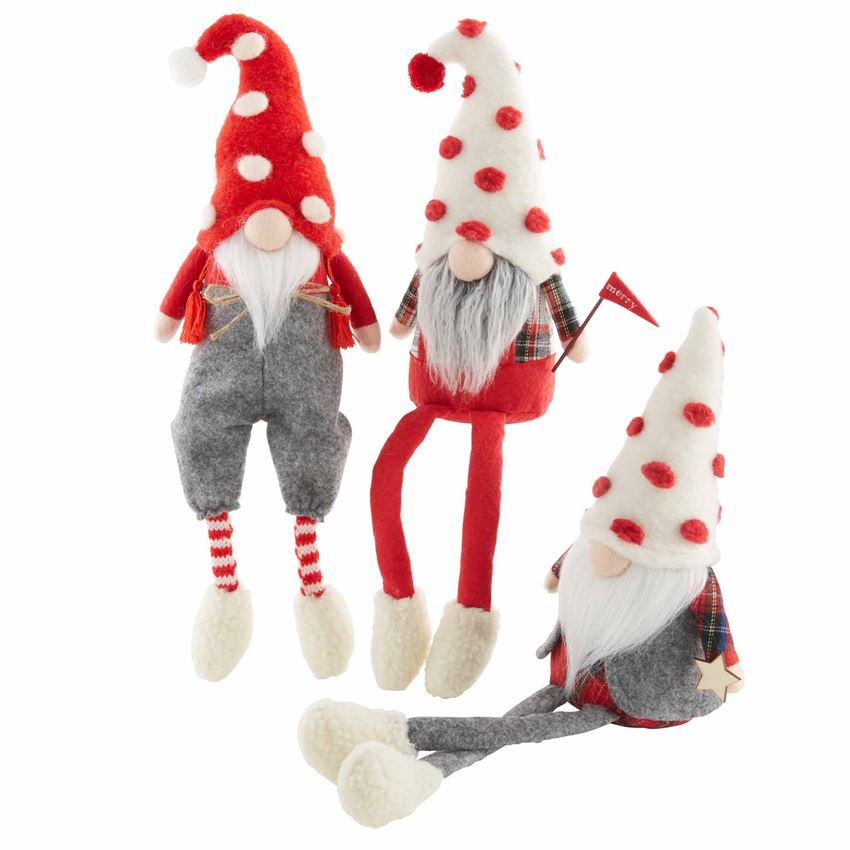 Christmas Dangle Leg Gnomes
