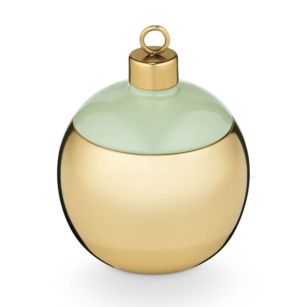 Metal Ornament Candle - Pomander Pine