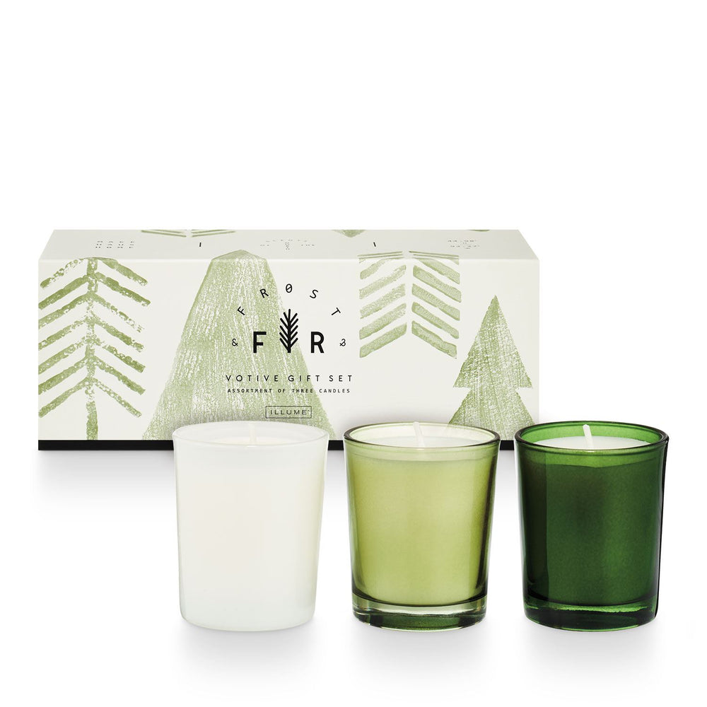 Frost & Fir Votive Gift Set