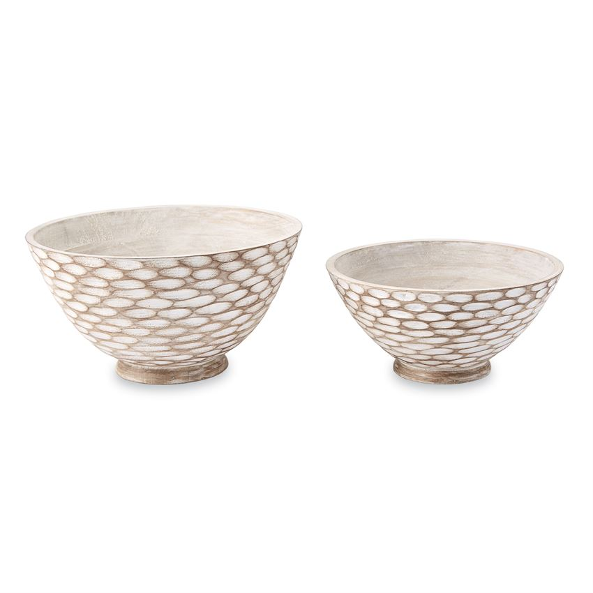 Carved Wood Bowls - Gatherings Market