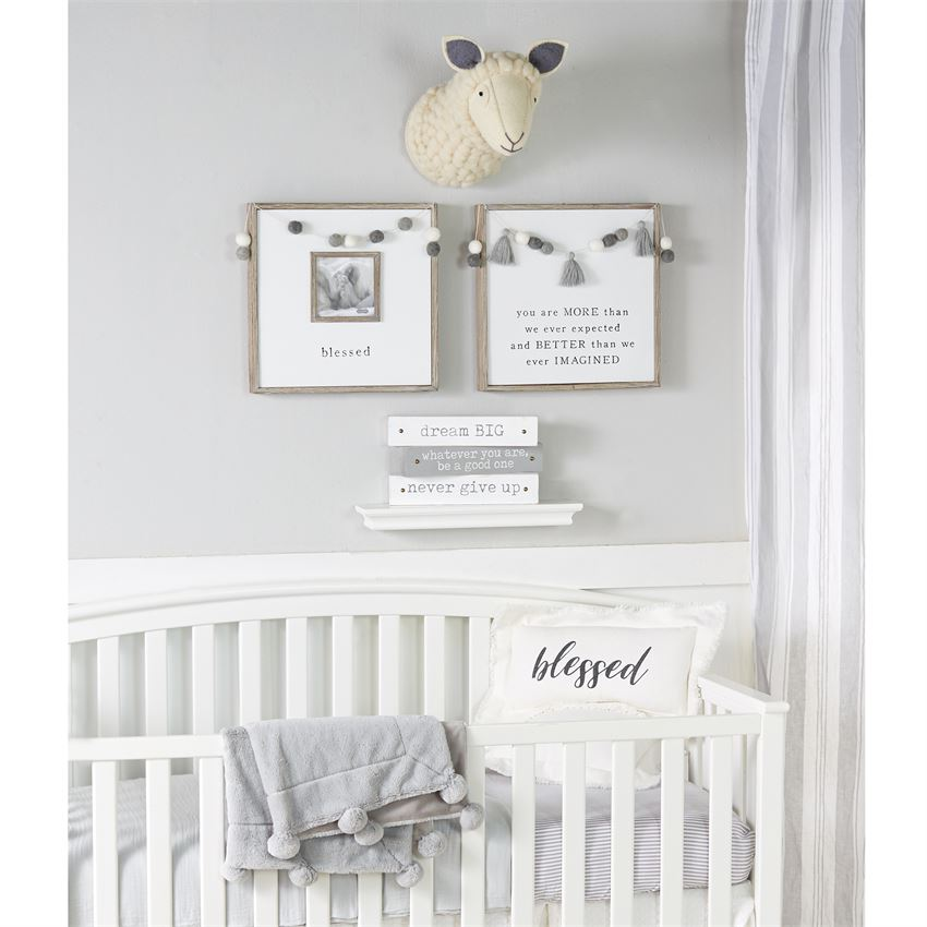 Pom Garland Frame - Gatherings Market