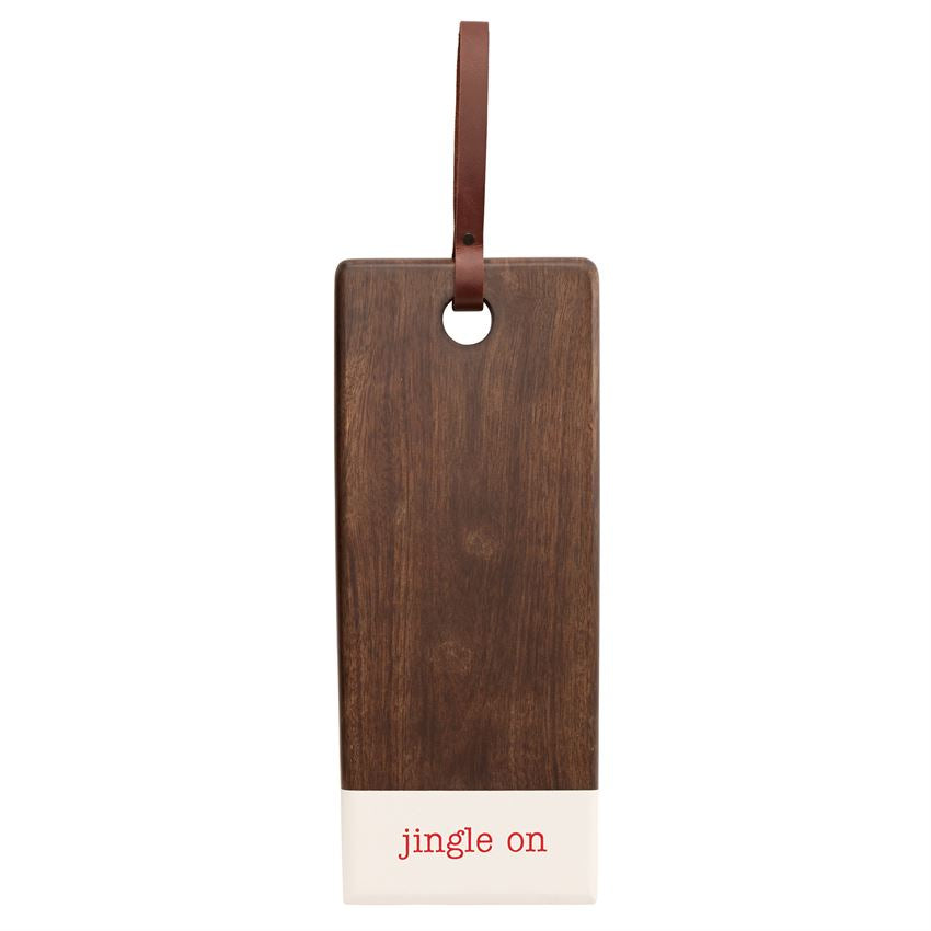 Holiday Wood & Enamel Serving Board - Gatherings Market