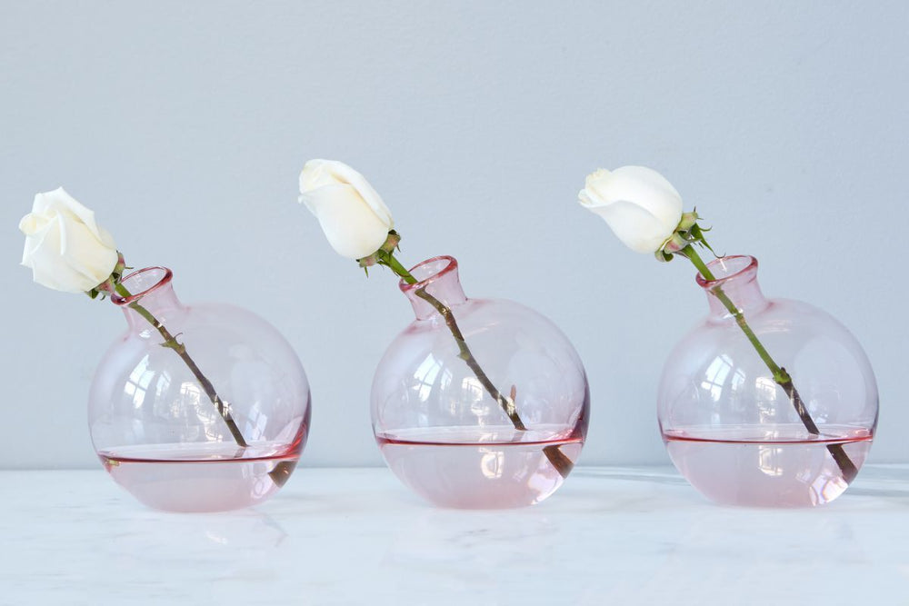Sphere Vase - Blush - Gatherings Market