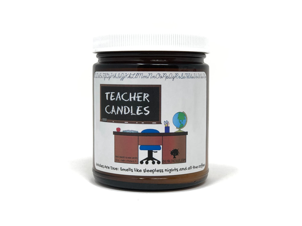 Teacher Candle - Broken Crayons
