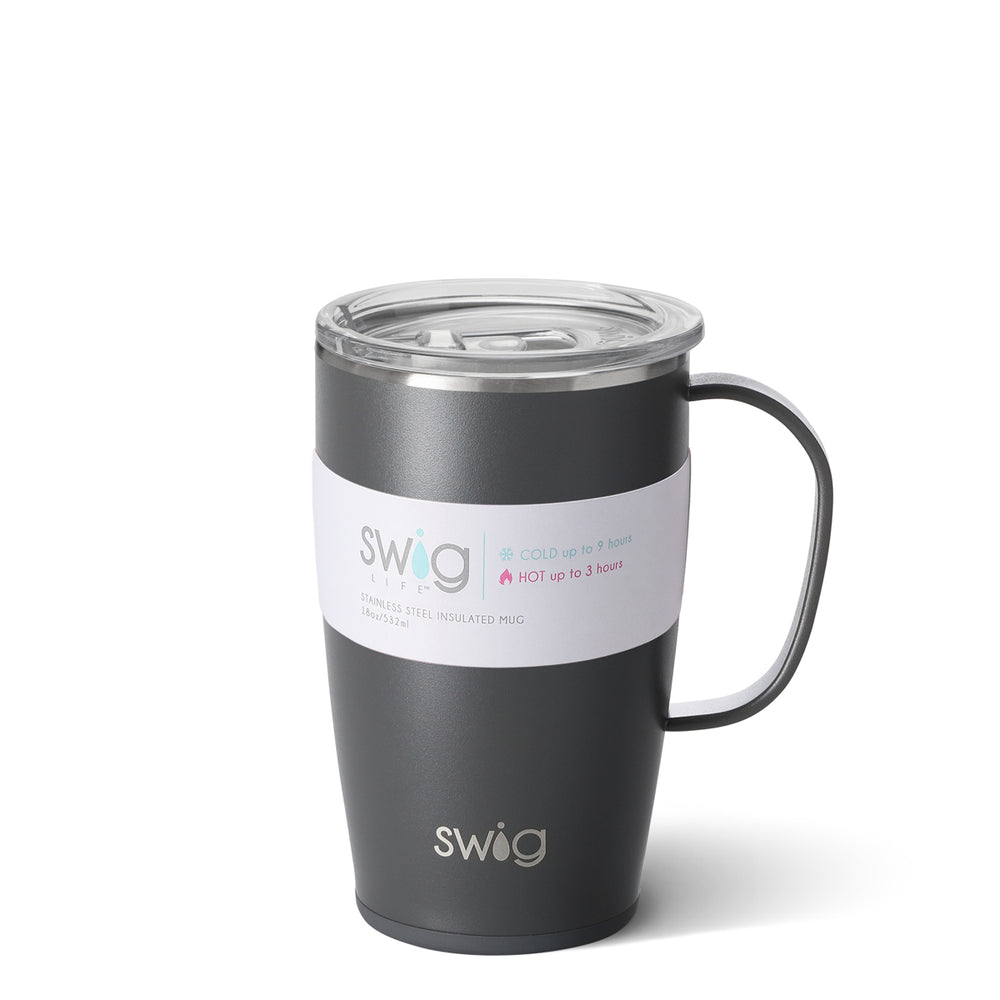 Travel Mug - Matte Gray