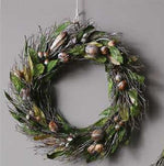 Leaves and Twigs Wreath