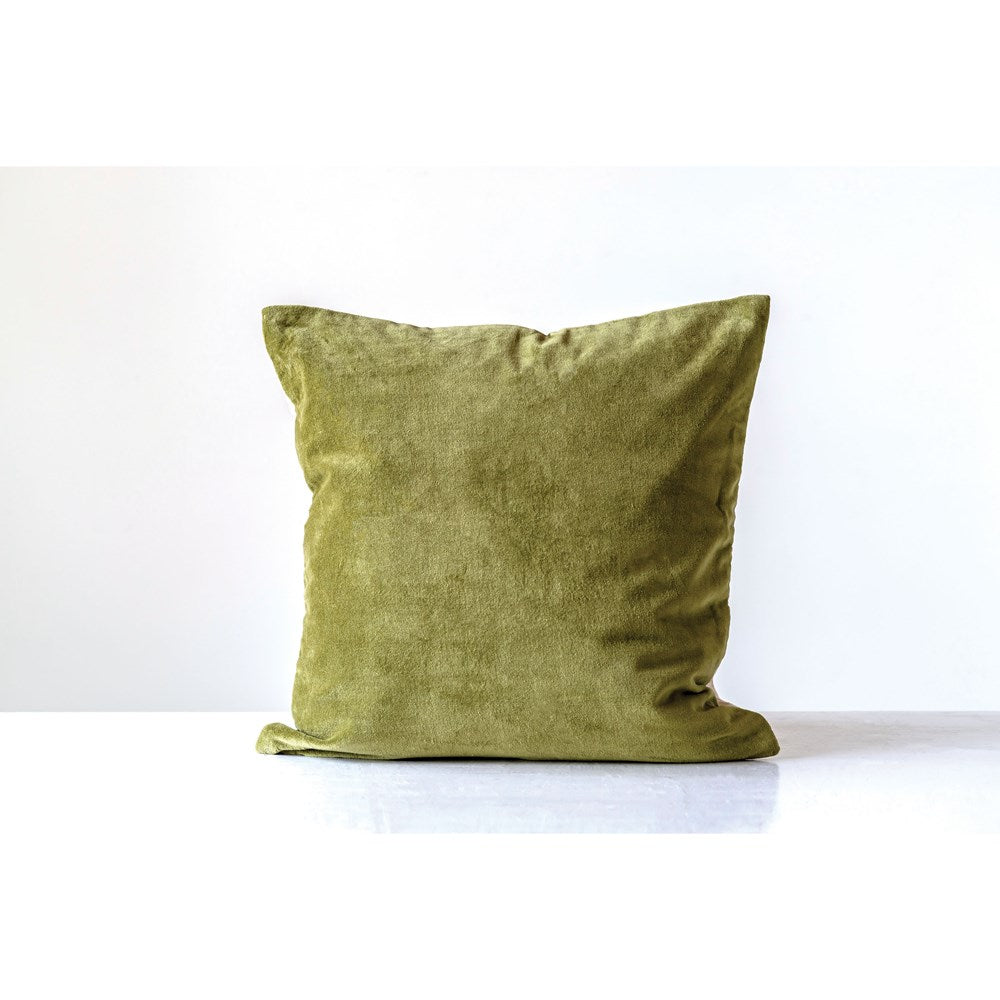 Velvet Pillow - Green