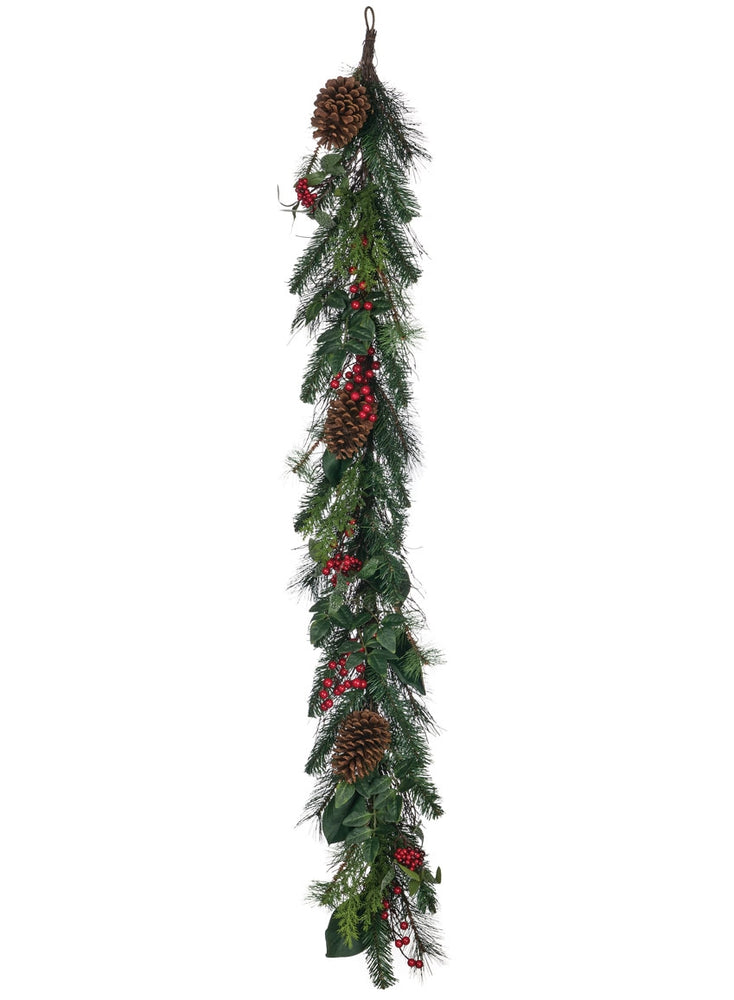 Pine Foliage with Berries Garland - Gatherings Market