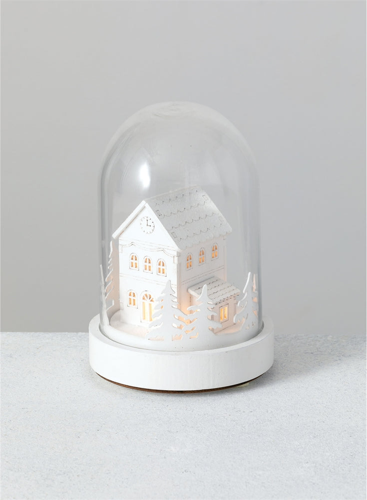 LED House Cloche