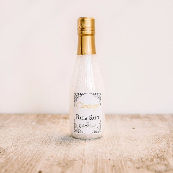 Wine Scented Bath Salts - Champagne