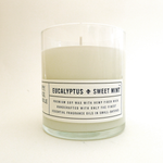 Eucalyptus & Sweet Mint - 8 oz Candle