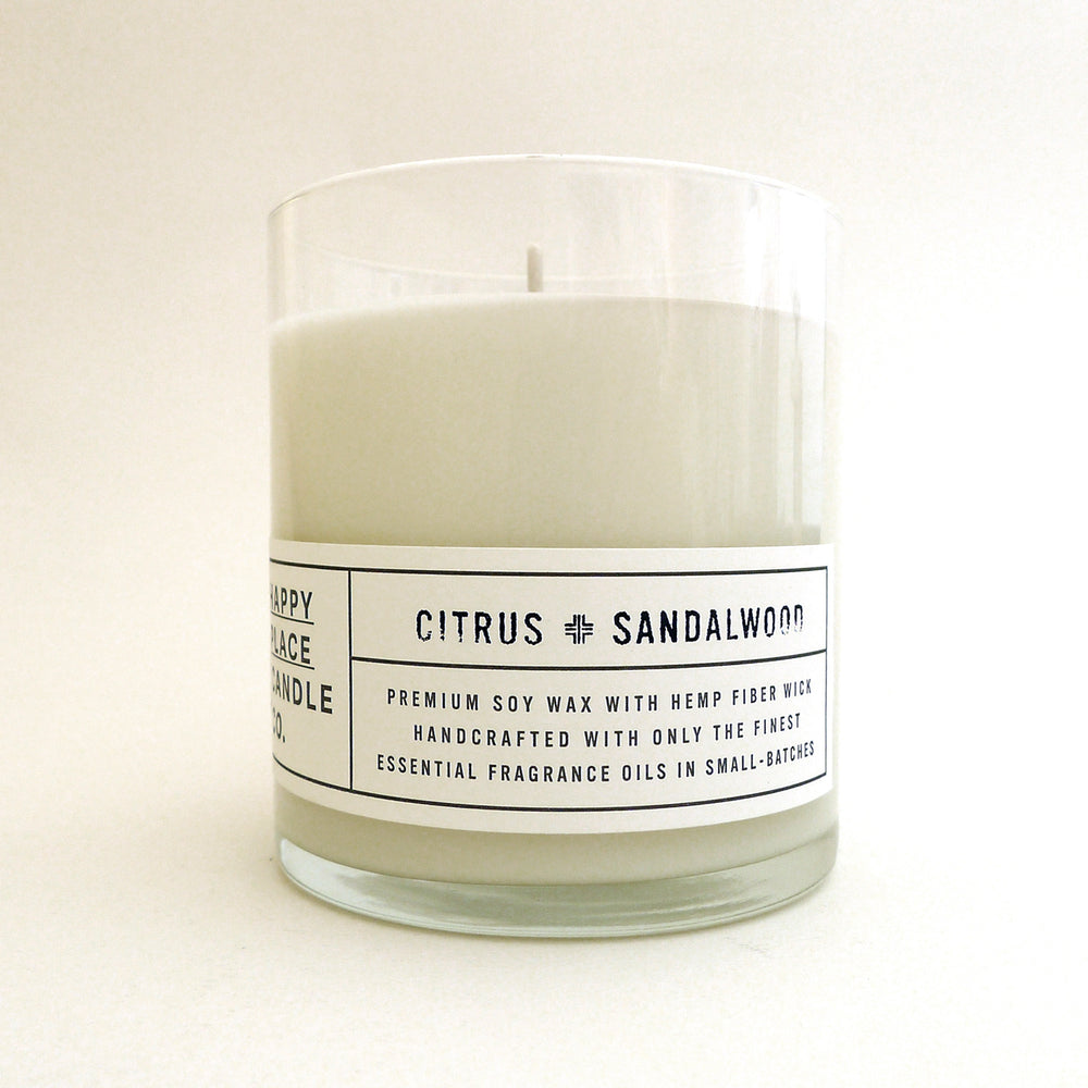 Citrus & Sandalwood - 8 oz Candle