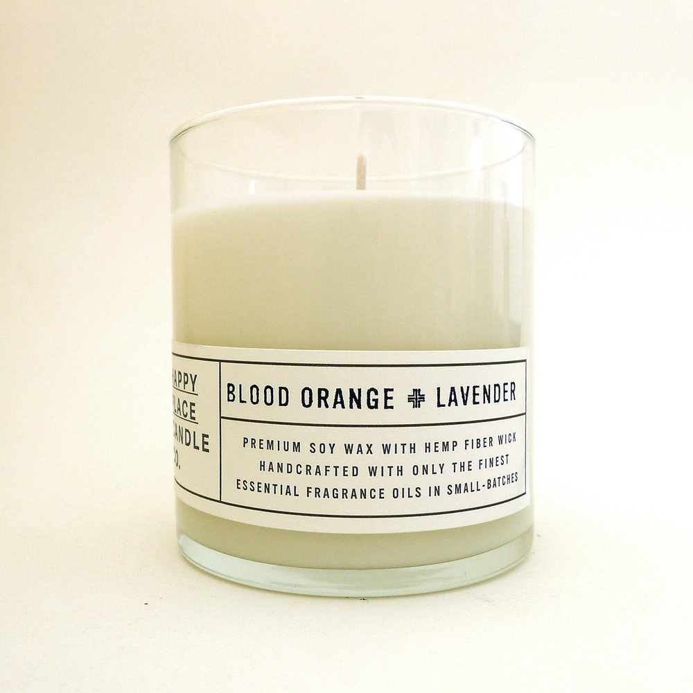 Blood Orange & Lavender - 8 oz Candle
