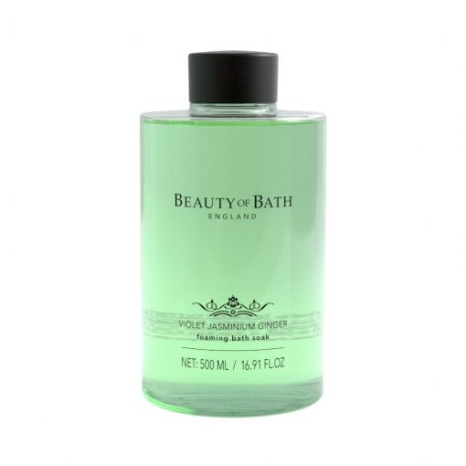 Beauty of Bath Foaming Bath Soak - Violet Jasminium Ginger