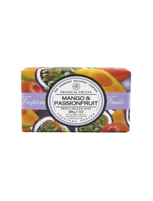Tropical Fruits Triple Milled Soap - Mango & PassionFruit