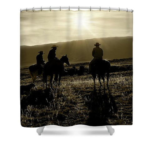 Board Meeting Shower Curtain