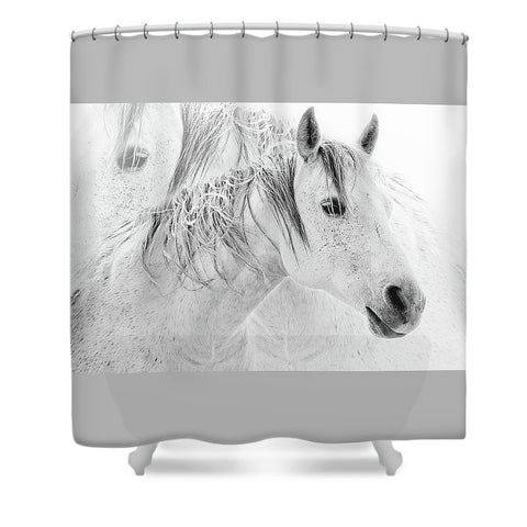 Still Shower Curtain