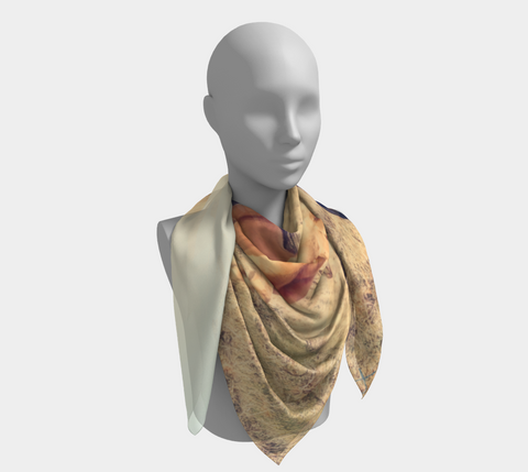 Dusty Rose Western Scarf