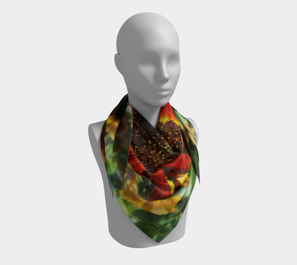 Hearts On Fire Western Scarf