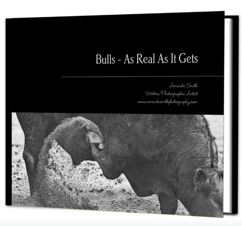 Bulls - As Real As It Gets Coffee Table Book -available in Soft or Hard cover