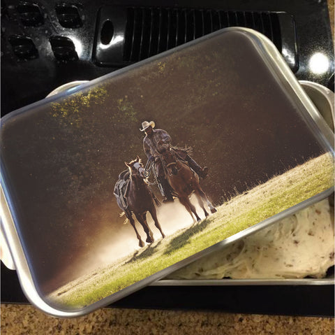 A Dollar in the Dust Cake Pan with Lid