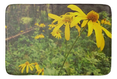 A Walk in the Woods Bath Mat