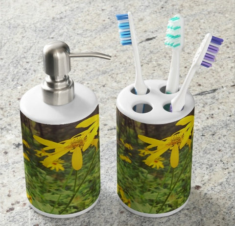 A Walk in the Woods Bathroom Set