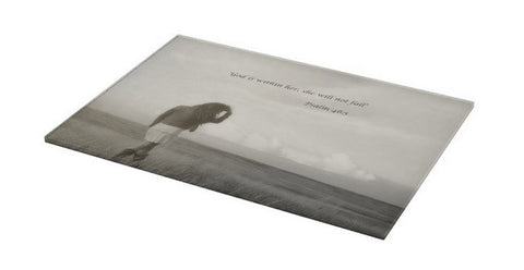After the Storm Inspirational Cutting Board