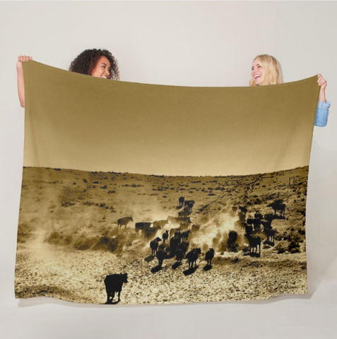 Afternoon Delight Fleece Blanket